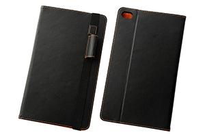 【HUAWEI MediaPad M2 8.0/docomo dtab Compact d-02H】ブックレザーケース(合皮)
