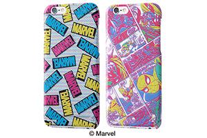 【Apple iPhone 6/iPhone 6s】マーベル・ハードケース