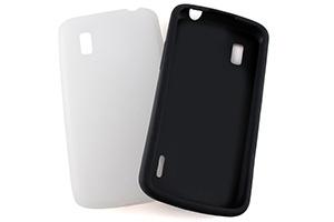 【Google Nexus 4】シルキータッチ・シリコンジャケット