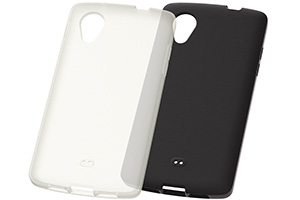【Google Nexus 5】シルキータッチ・シリコンジャケット