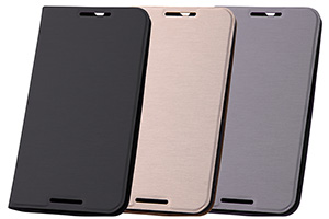 【Google Nexus 6】スリムレザーケース(合皮)