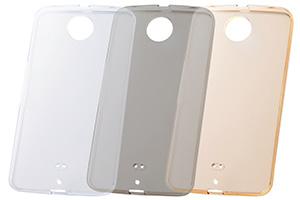 【Google Nexus 6】ウルトラクリアソフトケース