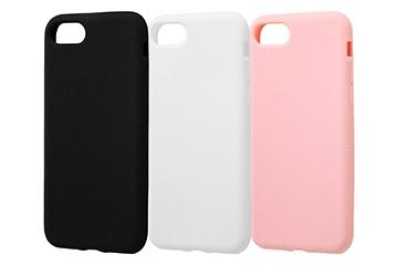 【Apple iPhone 7/iPhone 8】シリコンケース スリップガード