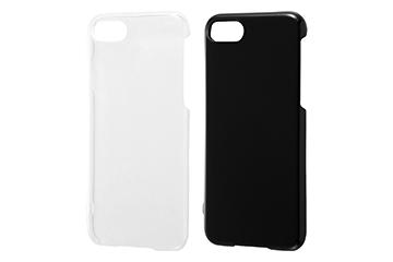 【Apple iPhone 7/iPhone 8(ブラックのみ対応)】ハードケース 3Hコート