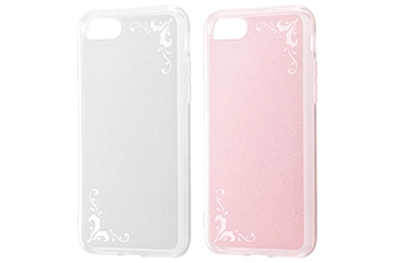 【Apple iPhone SE(第2世代)/iPhone 8/iPhone 7】TPUソフトケース ジュエラ