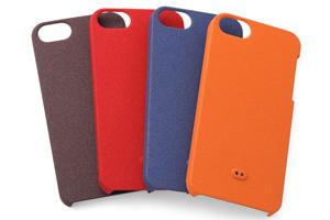 【Apple iPhone SE/iPhone 5s/iPhone 5】ラバーコーティング・アーバン・シェルジャケット