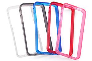 【Apple iPhone SE/iPhone 5s/iPhone 5】キラキラ・ソフトフレームジャケット