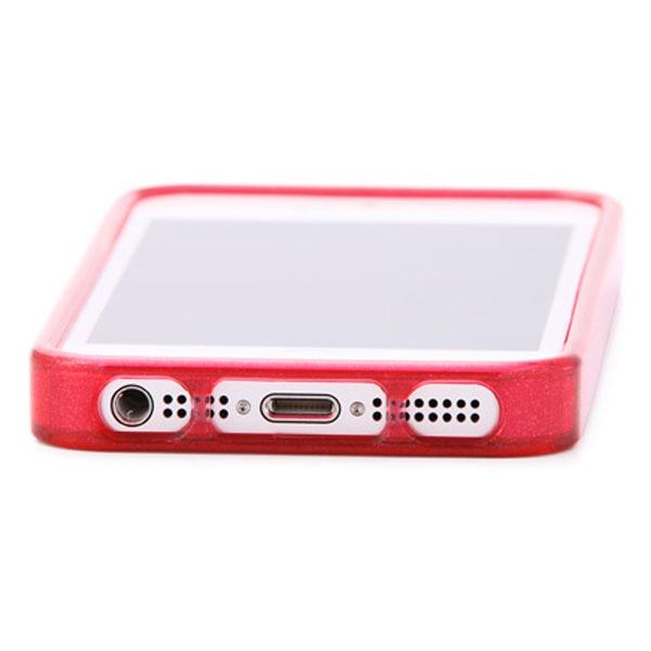 85a5644e2d しなやかなラメ入りの透明TPU樹脂をベースに全5色のバリエーションをご用意しました。iPhoneのワンポイントアクセサリとしてオススメです。 キラキラ  ラメ入り加工TPU ...