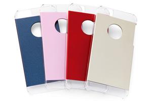 【Apple iPhone 5s、iPhone 5】ハードコーティング・マルチカラー・シェルジャケット