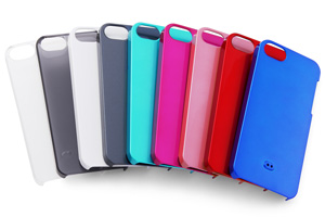 【Apple iPhone SE/iPhone 5s/iPhone 5】ハードコーティング・シェルジャケット