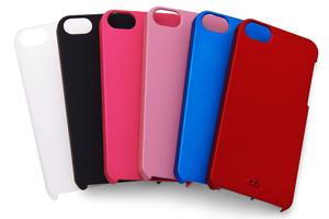 【Apple iPhone SE/iPhone 5s/iPhone 5】ラバーコーティング・シェルジャケット
