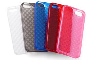 【Apple iPhone SE/iPhone 5s/iPhone 5】キラキラ・ソフトジャケット