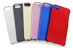 【Apple iPhone SE/iPhone 5s/iPhone 5】ハードコーティング・メタリック・シェルジャケット