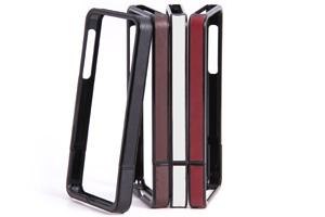 【Apple iPhone SE/iPhone 5s/iPhone 5】レザーフレームジャケット