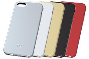【Apple iPhone SE/iPhone 5s/iPhone 5】ラグジュアリー・ソフトジャケット <マット>
