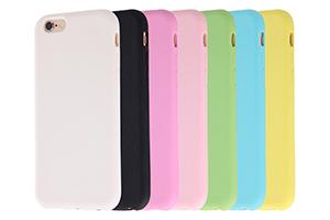 【Apple iPhone 6/iPhone 6s】スリップガード・シリコンジャケット