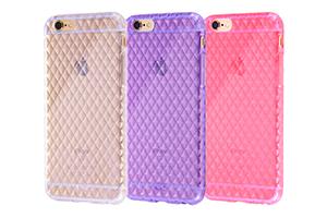 【Apple iPhone 6】キラキラ・ソフトジャケット