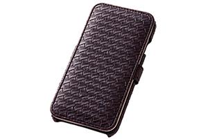 【Apple iPhone 6/iPhone 6s】ブックカバータイプ・メッシュレザージャケット(合皮タイプ)