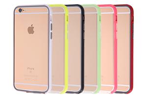 【Apple iPhone 6/iPhone 6s】ハイブリットバンパー