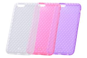 【Apple iPhone 6/iPhone 6s】キラキラソフトケース