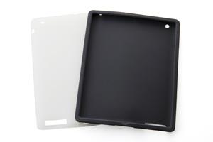 【Apple iPad 2(2011年3月発表モデル)】スリップガード・シリコンジャケット