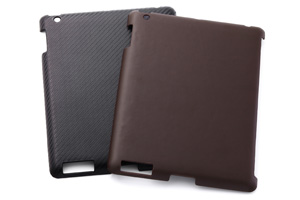 【Apple iPad Retina ディスプレイモデル、 iPad (2012年春発表モデル)】オープンタイプ・レザージャケット