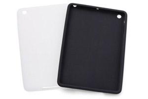 【Apple iPad mini】シルキータッチ・シリコンジャケット