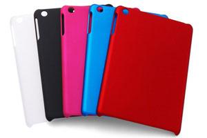 【Apple iPad mini】ラバーコーティング・シェルジャケット