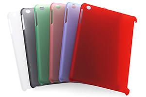 【Apple iPad mini】ラバーコーティング・シェルジャケット for Smart Cover
