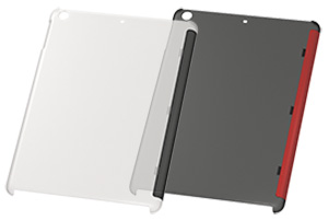 【Apple iPad Air】ラバーコーティング・シェルジャケット
