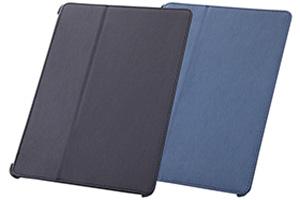 【Apple iPad Air】スリープモード対応フラップタイプ・レザージャケット(合皮タイプ)