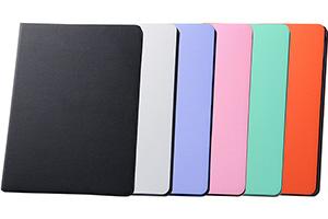 【Apple iPad Air 2】カラフル・スリムレザージャケット(合皮タイプ)