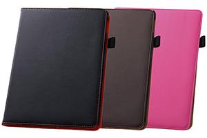 【Apple iPad Air 2】フラップタイプ・レザージャケット(合皮タイプ)