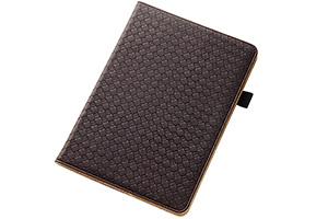 【Apple iPad Air 2】フラップタイプ・メッシュレザージャケット(合皮タイプ)