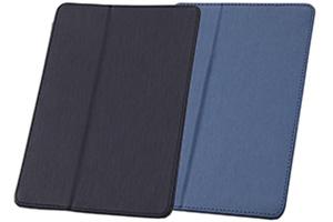 【Apple iPad Air 2】スリープモード対応フラップタイプ・レザージャケット(合皮タイプ)