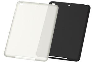 【Apple iPad mini 3、iPad mini 2】シルキータッチ・シリコンジャケット