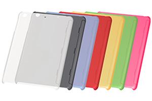 【Apple iPad mini 3、iPad mini 2】ラバーコーティング・シェルジャケット