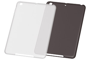 【Apple iPad mini 3、iPad mini 2】ソフトジャケット