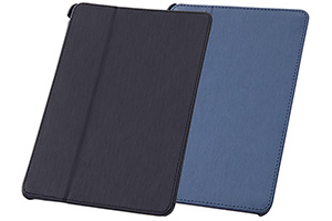 【Apple iPad mini 3、iPad mini 2】スリープモード対応フラップタイプ・レザージャケット(合皮タイプ)