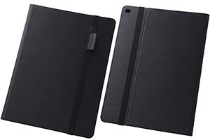【Apple 12.9インチ iPad Pro(第1世代)】スリムレザーケース(合皮)