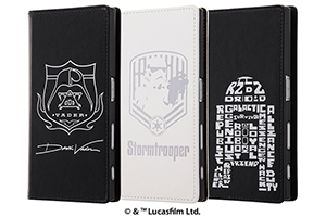 【Xperia™ XZ/Xperia™ XZs】スター・ウォーズ/手帳型ケース ホットスタンプ