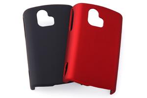 【イー・モバイル Sony Ericsson mini S51SE】ラバーコーティング・シェルジャケット