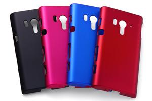 【docomo Xperia™  acro HD SO-03Dau Xperia™  acro HD IS12S】マットハードコーティング・シェルジャケット