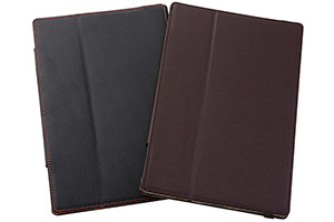 【docomo Xperia™ Tablet Z SO-03E】フラップタイプ・レザージャケット(合皮タイプ)