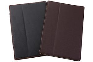 【docomo Xperia? Tablet Z SO-03E】フラップタイプ・レザージャケット(合皮タイプ)