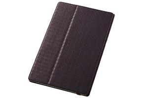 【docomo Xperia™ Tablet Z SO-03E】フラップタイプ・メッシュレザージャケット(合皮タイプ)