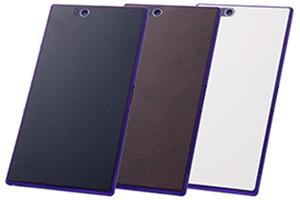 【au Xperia™ Z Ultra SOL24 / SONY Xperia™ Z Ultra SGP412JP】テクスチャー保護フィルム(背面用) 1枚入[デザイン]