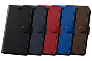 【各種スマートフォン最大対応サイズ:縦148mm 横73mm 厚み12mm】Multi Case「手帳型汎用ケース」