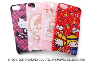 【Apple iPhone SE/iPhone 5s/iPhone 5】サンリオキャラクター・シェルジャケット