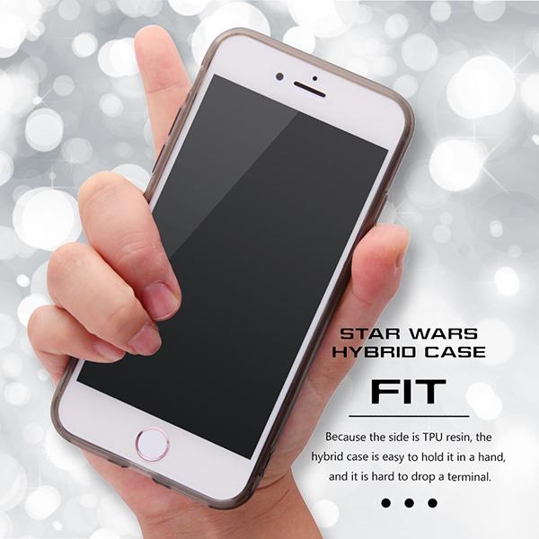37fab2d1aa 【Apple iPhone 7/iPhone 8】スター・ウォーズ/ハイブリッドケース|STAR WARS|スマートフォンカバー ・アクセサリーをお探しなら株式会社レイ・アウト